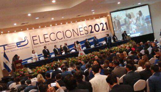TSE entregó las credenciales a los diputados electos de la nueva Asamblea